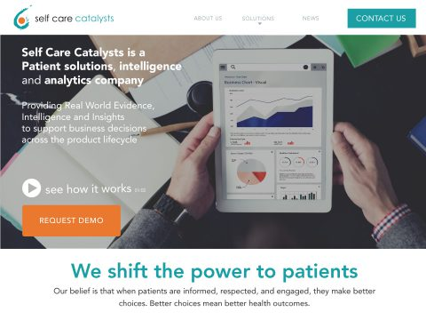 website Power to the Patient