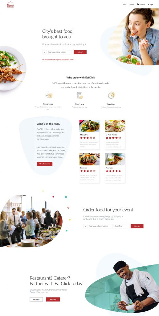 Eatclick Portfolio 1